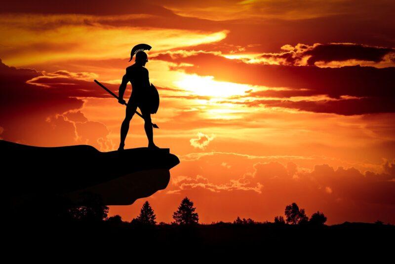 スパルタの戦士
